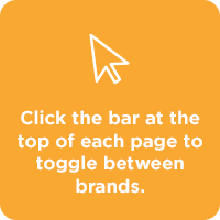 STEP 2. Click the bar at the top of each page to toggle between brands.