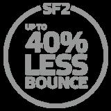 40% Less Bounce